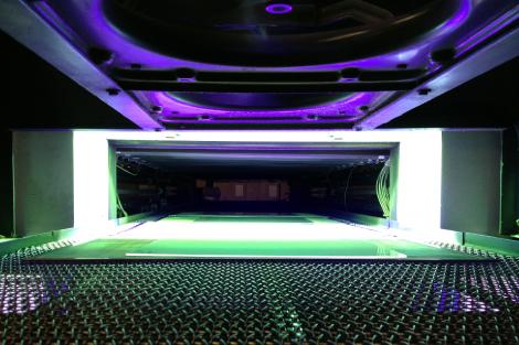紫外線(UV)照射ライン