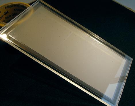 UV貼り合わせ:拡散面密封パネル
